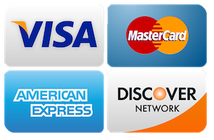 Credit Cards Accepted Graphic